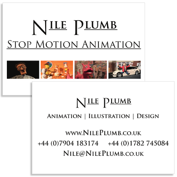 Nile Plumb's Business Contact Card