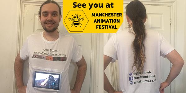 Self Promotion show reel shirt
